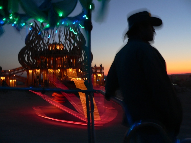 Burning Man Goes Easy on This Year's Crowd