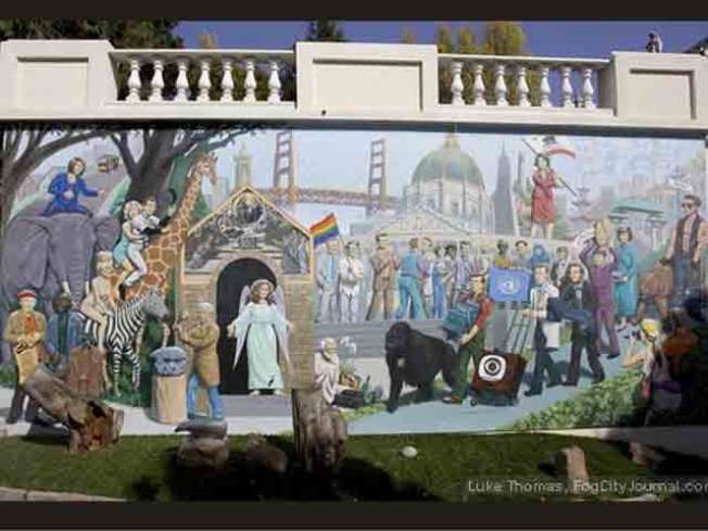 """Only In San Francisco"" Mural Unveiled"