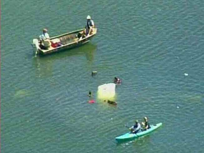 Small Plane Plunges Into Peninsula Water