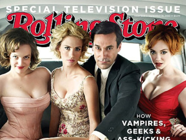 """Mad Men"" Gets the ""Rolling Stone"" Treatment"