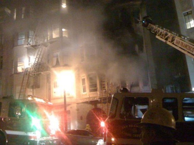 Fire Rips Through SF Apartment Building
