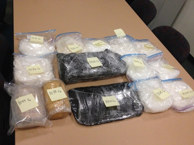 San Jose Drug Traffickers Arrested With 37 Lbs. Of Meth Hidden in Vehicle