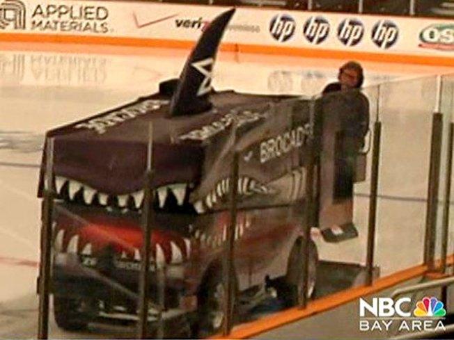 Shark Tank Zamboni Guy: Ice the Blackhawks