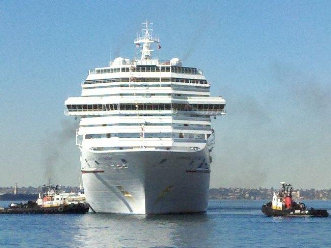 Crippled Cruise Ship Heads Toward Golden Gate