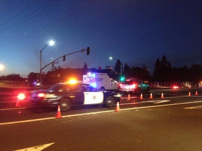 """Alcohol Involved"" When Driver Runs Red Light in  Fatal Accident: San Jose Police"