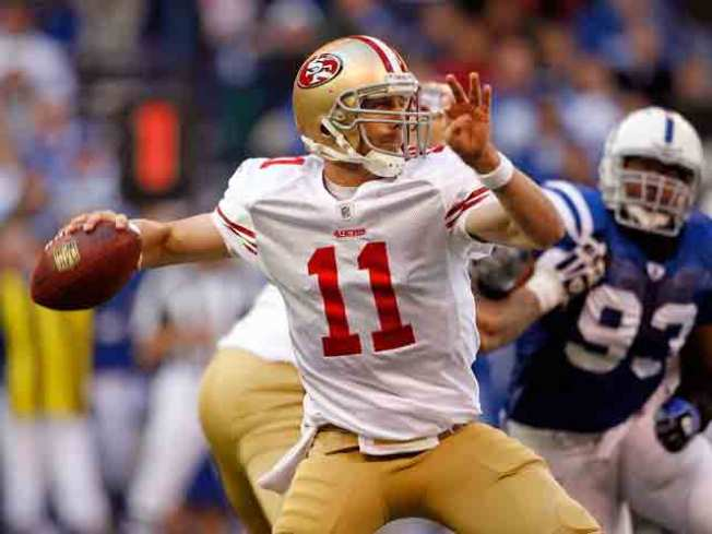 Smith Has Good Game, 49ers Still Lose