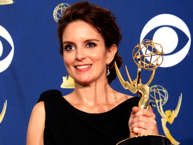 """""""30 Rock,"""" """"Mad Men"""" Win Again at Emmys"""