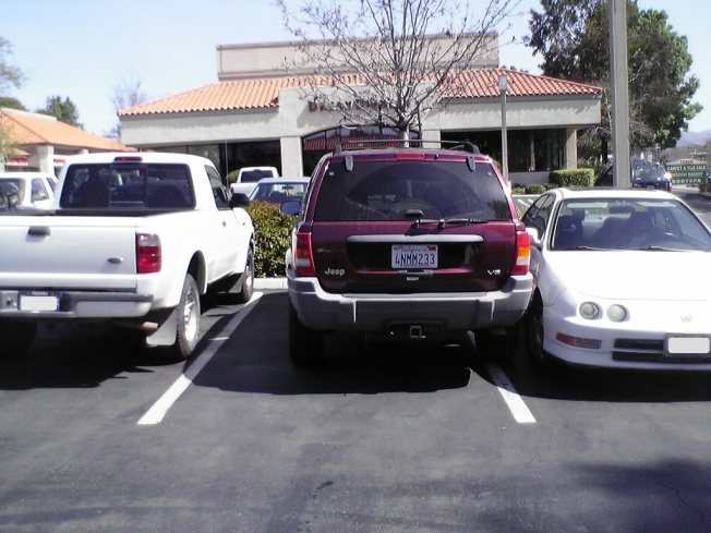 Stop Parking Like an A**hole