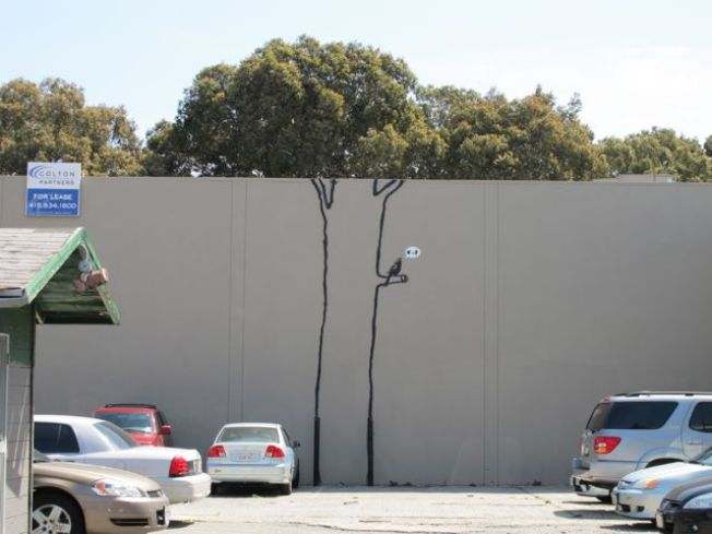 Banksy's Tree Gets a Friend