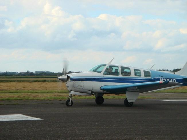 Small Plane Crash Lands Into Big Bear Lake