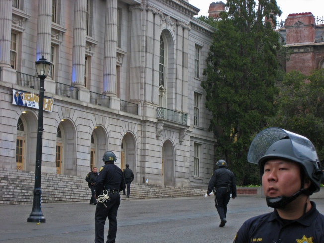 Students Take Over UC Berkeley Building