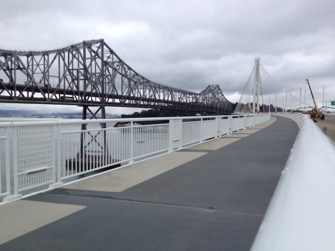 Bay Bridge Bike Path First Ever on Span