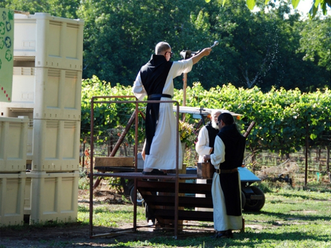Livermore Grape Harvest Starts With a Blessing