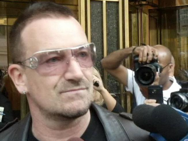 Bono's Back Surgery Puts U.S. Tour on Hold