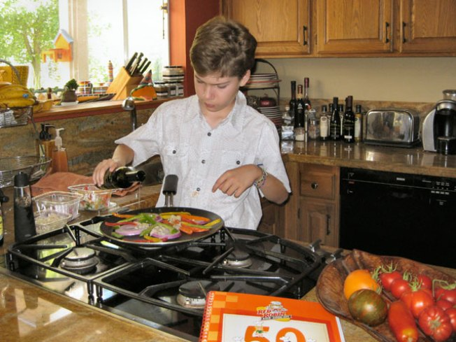 Los Gatos Boy Cooks Up Winning Burger Recipe