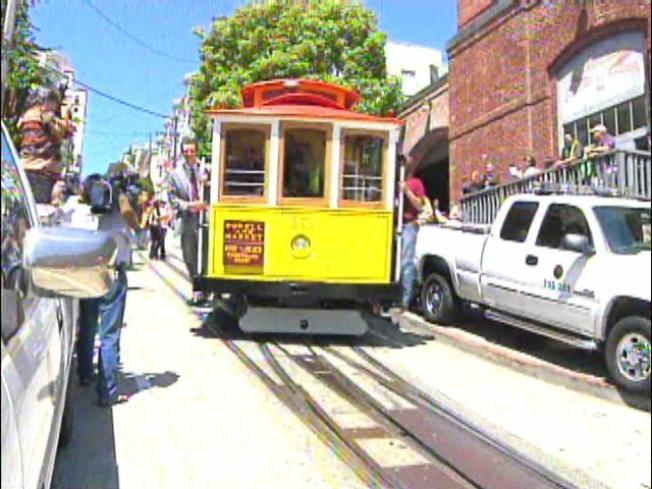 New Cable Car Rolls Into Spotlight