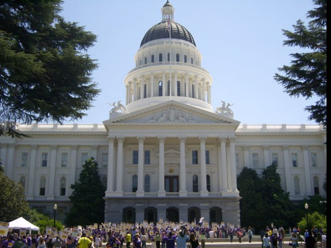 Occupy Sacramento: Protesters Take Over Capitol