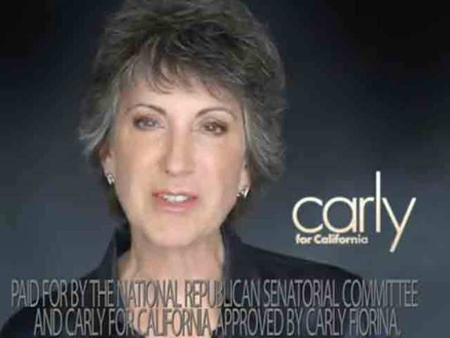 Fiorina Launches Ad Blitz