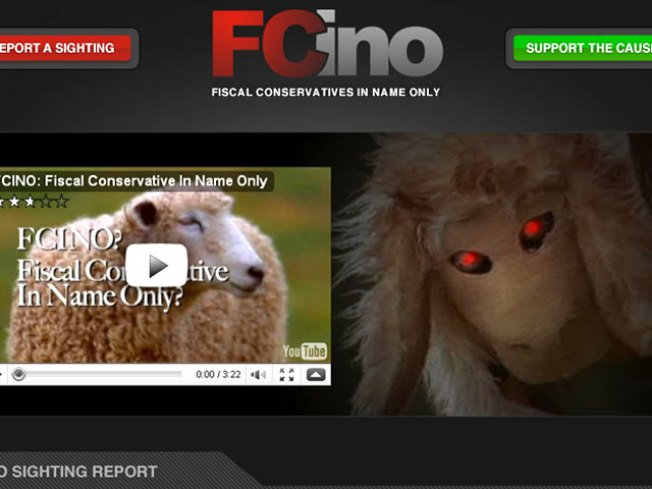 "People Flocking to ""Demon Sheep"" Online Ad"
