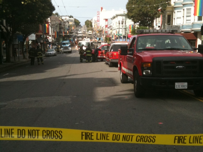 Gas Leak Disrupts Castro