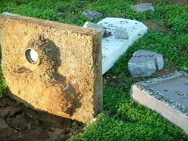 Vandals Hit NorCal Cemetery