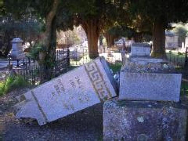 Damage at NorCal Cemetery Irreplaceable