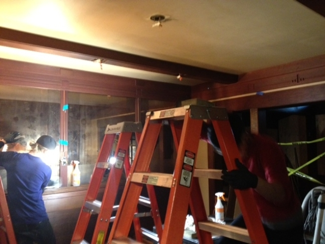 Rebuilding at Burned Berkeley's Chez Panisse