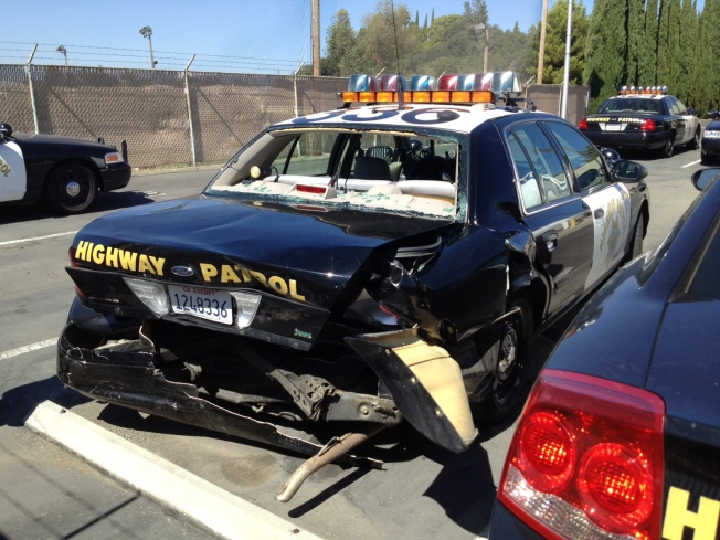 CHP Officer Saves Caltrans Worker's Life