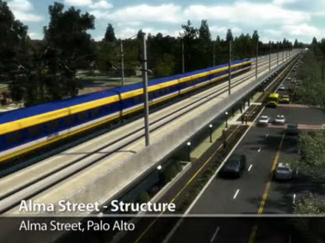 Palo Alto Debate Aims to Slow Down Bullet Train