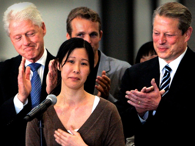 Ling Names Her Baby After Rescuer Bill Clinton
