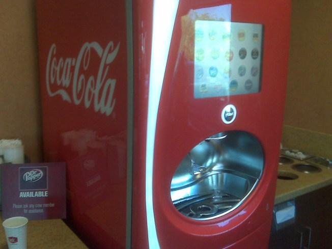 Soda Overload Comes in a Fountain