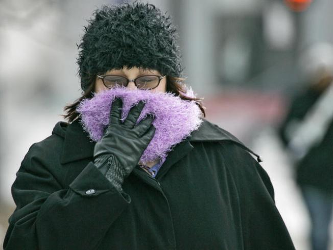 Brrrr!... Cold Snap Makes Way for Winter