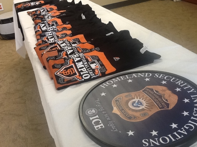 Feds Confiscate 1,200 Counterfeit MLB, Giants Paraphernalia