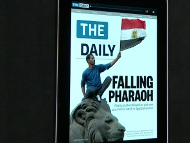 Rupert Murdoch Launches His iPad-Only Big Idea