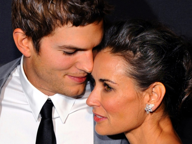 "Demi Moore Says Baby With Ashton Kutcher is ""Something That We Would Like"""