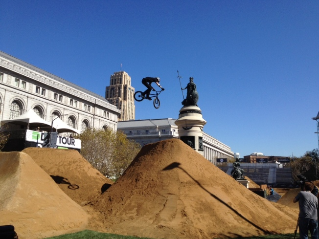 Skateboarders Bash SF Supe Avalos Over Dew Tour