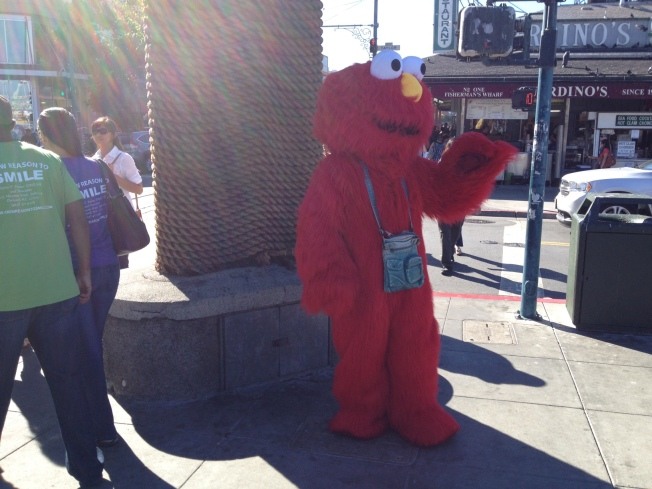 "Report: ""Bad Elmo"" Spotted Near Stern Grove"
