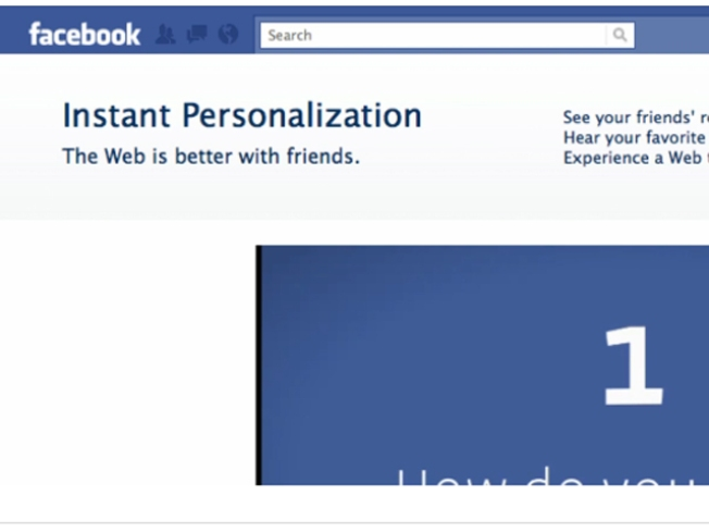 Facebook Pulls Back Curtain on Personalization