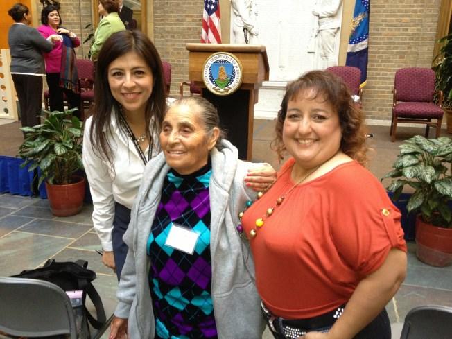 Female Farm Workers Gather in Washington, D.C.