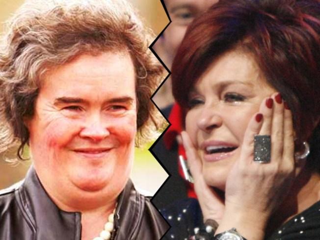 Sharon Osbourne Apologizes For Susan Boyle Slam After Kelly Gets Heat on Twitter
