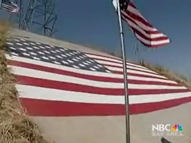 Renewed Glory: Sunol Grade American Flag Restored