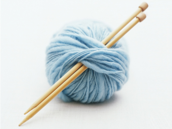 There's a Sit and Knit Going on at Greenwich Yarn