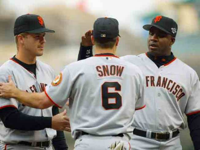 Giants Bring Back Big Guns For Park Reunion
