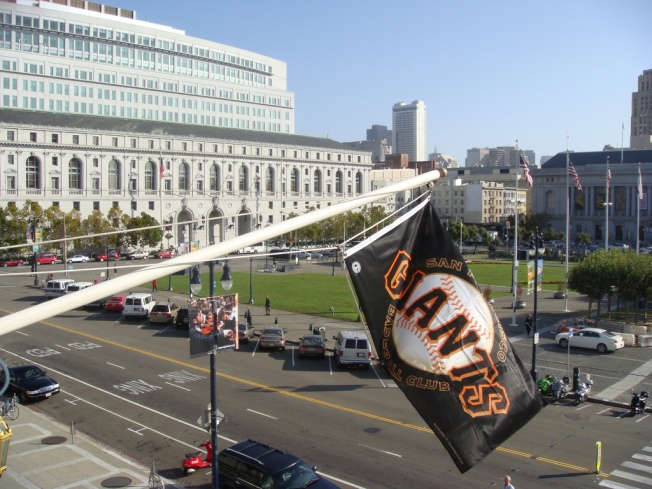 Signed, Sealed, Delivered. Giants Flag En Route to Atlanta