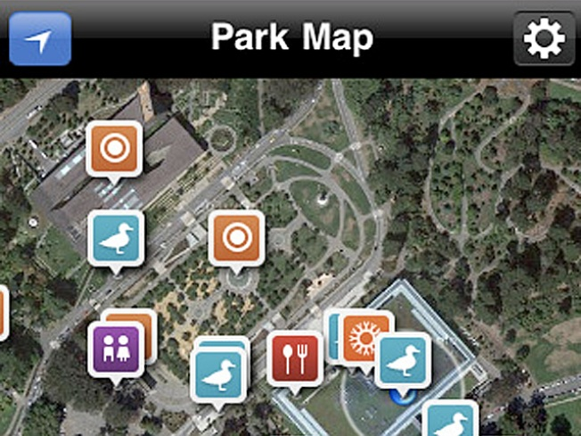 Golden Gate Park? There's an App for That