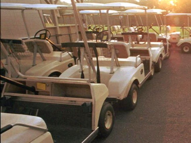 Don't Drink and Drive -- Not Even in a Golf Cart