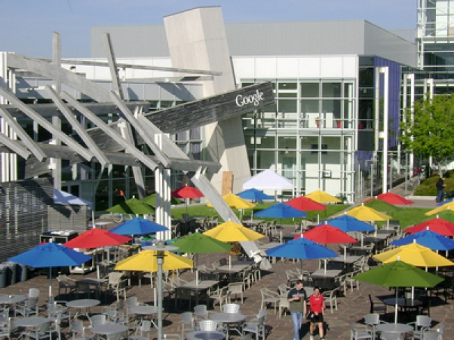 Occupy Google: Activists Camp Out on Google Campus