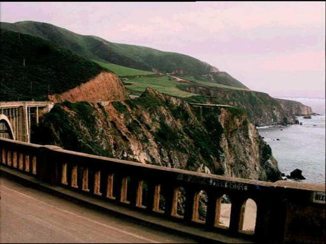 Driver Takes Fatal Plunge in Big Sur