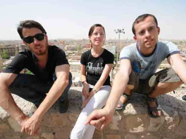 Cal Hikers Detained in Iran Call Home