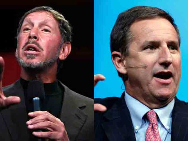 Mark Hurd Takes Center Stage as Oracle Soap Opera Begins